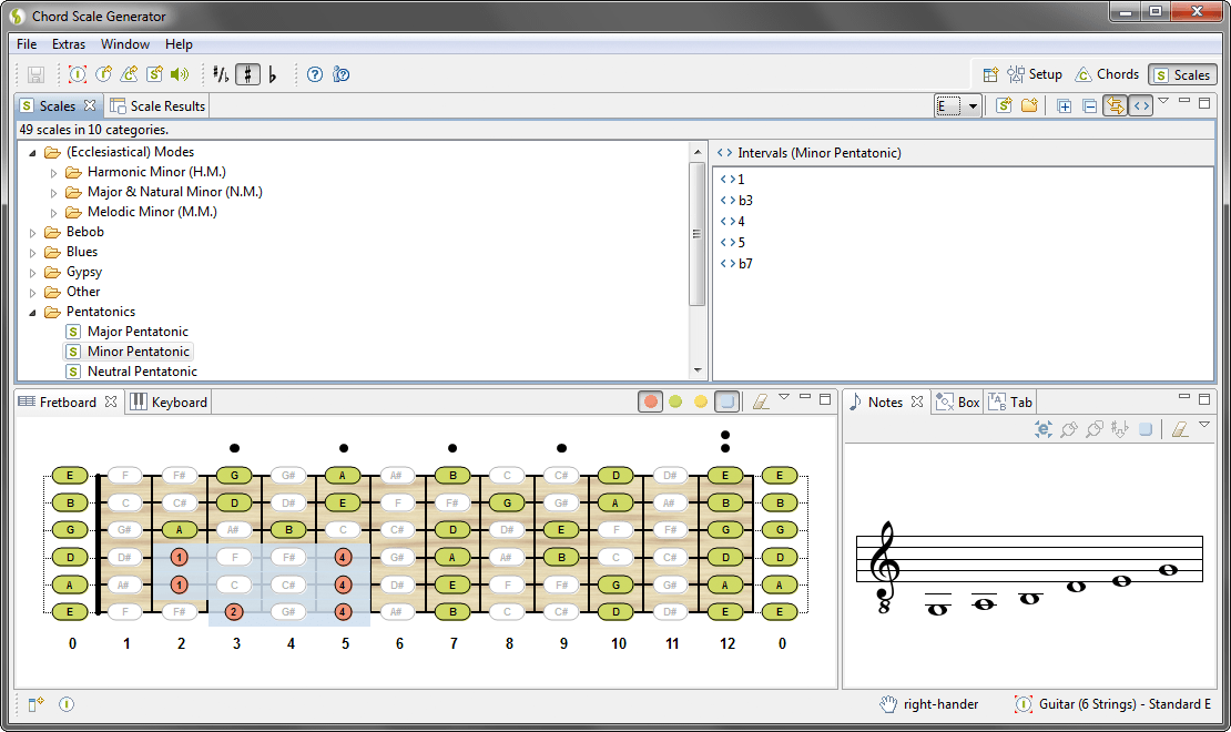 Chord Scale Generator The All In One Tool For Chords Scales