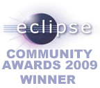 Eclipse Community Award 2009 Winner